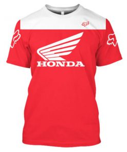 Custom honda logo full printing tshirt