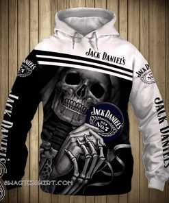 Death skull jack daniel's old no 7 tennessee whiskey full printing shirt