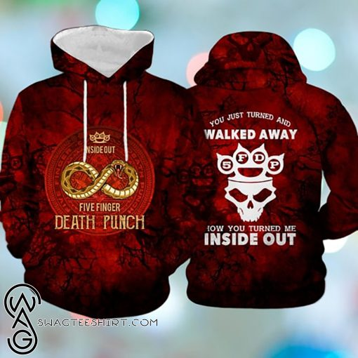 Five finger death punch inside out full printing shirt