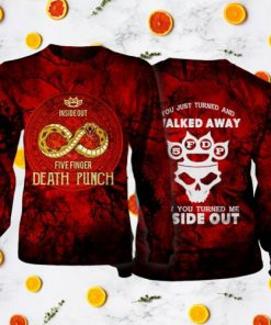 Five finger death punch inside out full printing sweatshirt