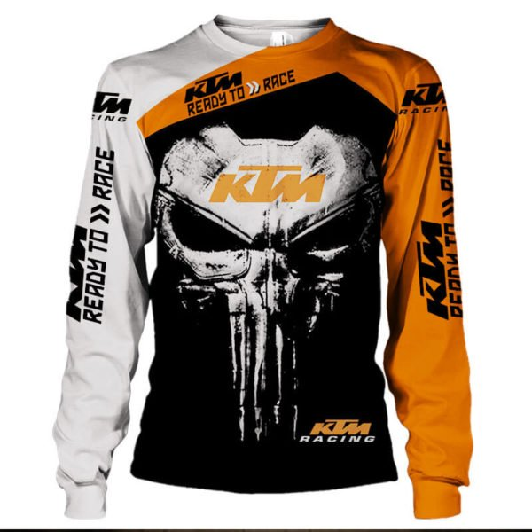 KTM ready to race punisher all over print sweatshirt