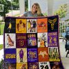 Kobe bryant all over printed quilt