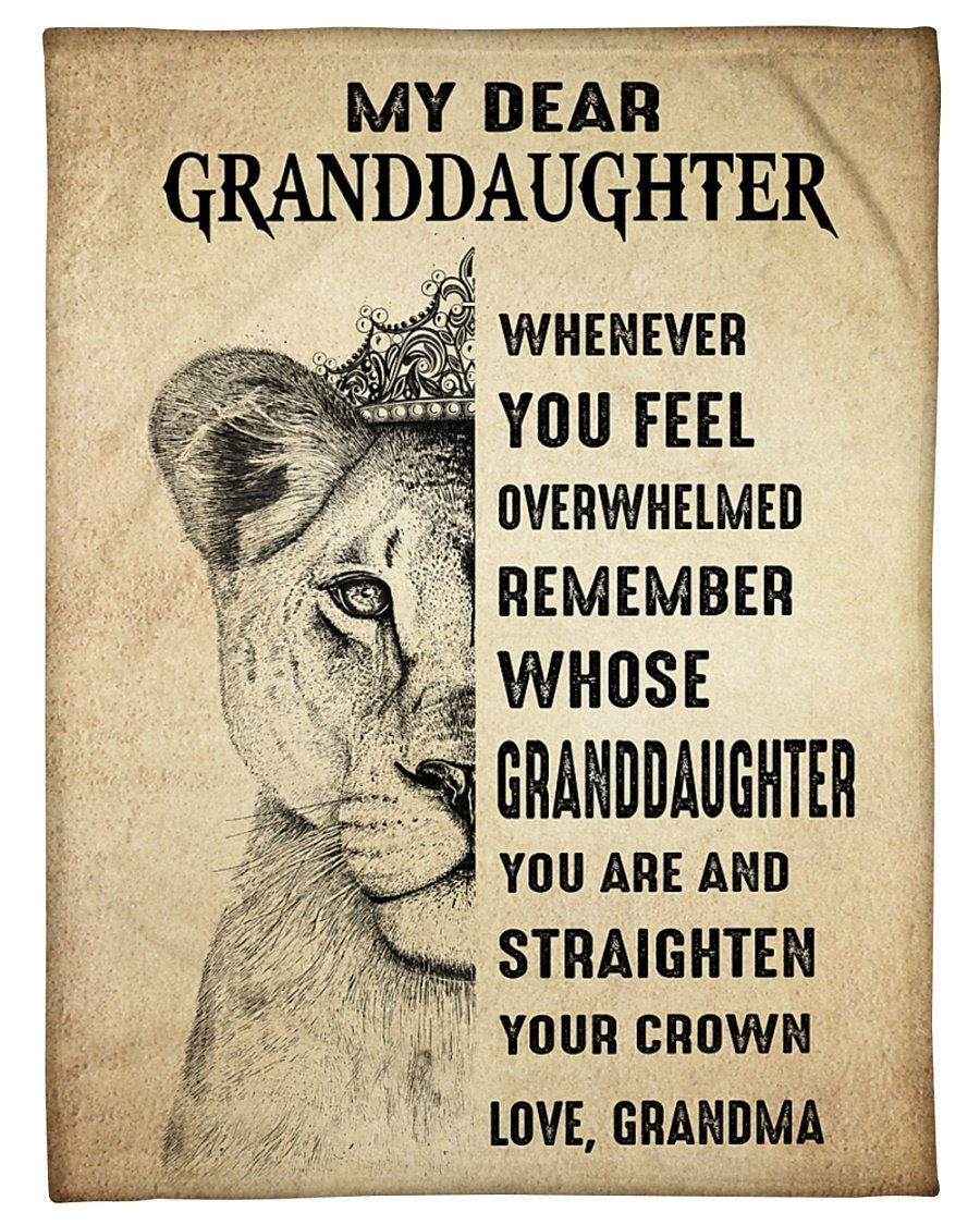 Lion king my dear daughter whenever you feel blanket 1