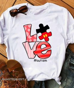 Love autism awareness shirt