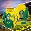 Oregon ducks football achmed the dead terrorist haters silence i kill you all over printed shirt