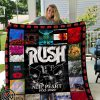 Rush neil peart all over print quilt