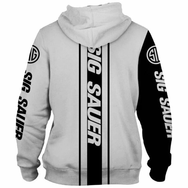 Sig sauer all over printed hoodie 1