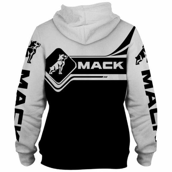 Skull mack trucks full printing hoodie 3
