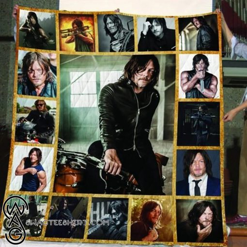 The walking dead daryl dixon all over print quilt