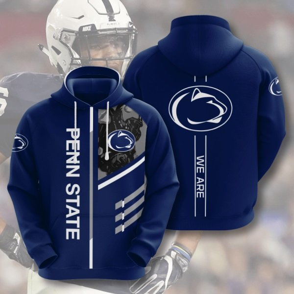 We are penn state nittany lions full printing hoodie 3