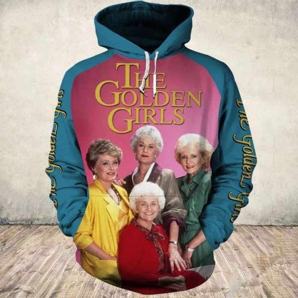 35th anniversary the golden girls all over print hoodie