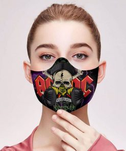 ACDC covid-19 pandemic filter activated carbon face mask 1