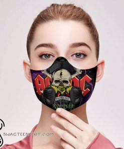 ACDC covid-19 pandemic filter activated carbon face mask