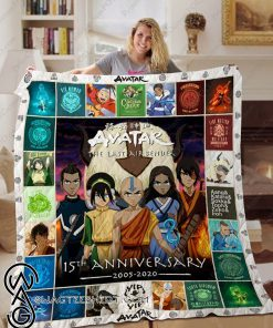 Avatar the last airbender 15th anniversary full printing quilt