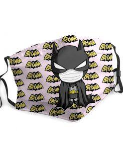 Batman quarantine coronavirus anti-dust face mask 2