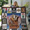 Blazing saddles full printing quilt