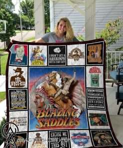 Blazing saddles full printing quilt