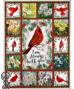 Cardinal i'm always with you full printing blanket