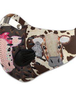 Cow heifer filter carbon pm 2,5 face mask 2