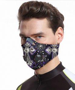 God i believe carbon pm 2,5 face mask 3