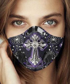 God i believe carbon pm 2,5 face mask 4