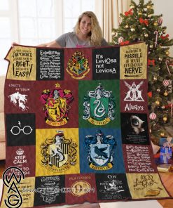 Harry potter full printing quilt