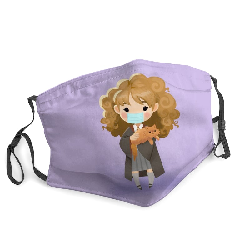 Hermione granger harry potter stay home face mask 1