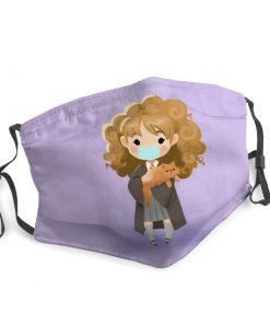 Hermione granger harry potter stay home face mask 3