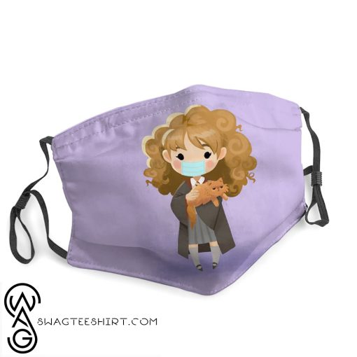 Hermione granger harry potter stay home face mask