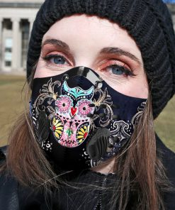 Hippie owl carbon pm 2,5 face mask 1