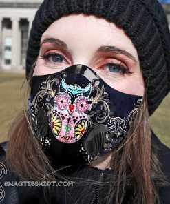 Hippie owl carbon pm 2,5 face mask