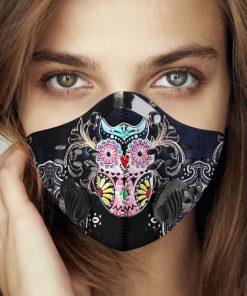 Hippie owl carbon pm 2,5 face mask 4