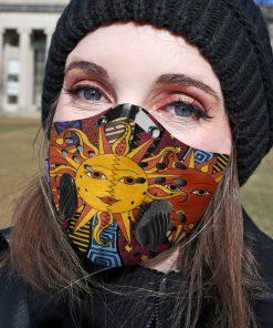 Hippie the sun carbon pm 2,5 face mask 1