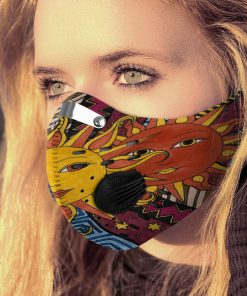 Hippie the sun carbon pm 2,5 face mask 3
