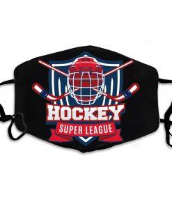 Hockey super league anti-dust cotton face mask 3