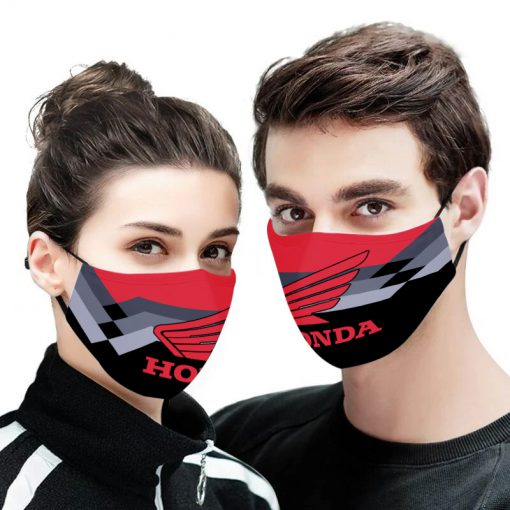 Honda motor full printing face mask 1