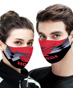 Honda motor full printing face mask 2