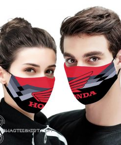 Honda motor full printing face mask