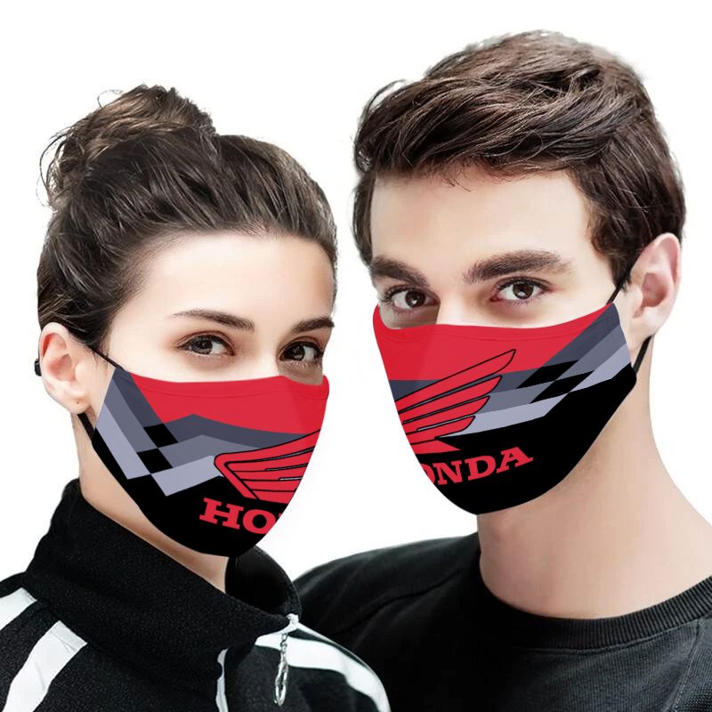 Honda motor full printing face mask 4