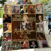 Kenny rogers thank you for the memories full printing quilt