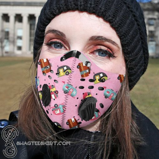 Love camping carbon pm 2,5 face mask