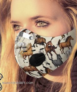 Love horse arbon pm 2,5 face mask
