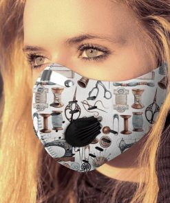 Love quilting carbon pm 2,5 face mask 3
