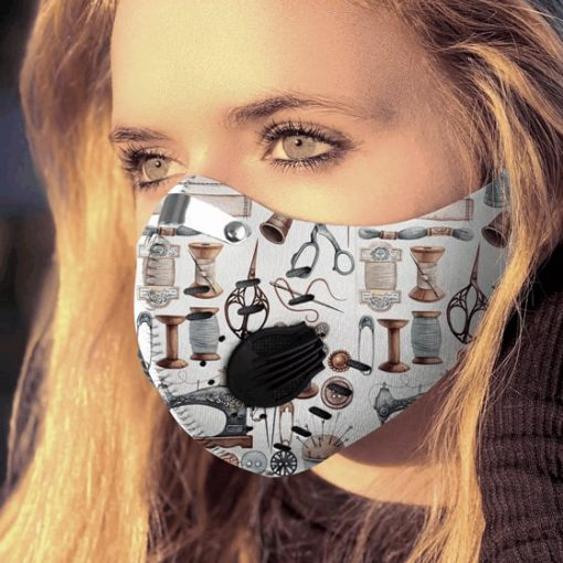 Love quilting carbon pm 2,5 face mask 4
