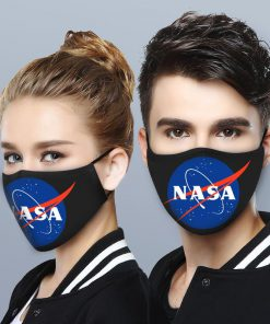 NASA logo anti-dust cotton face mask 4