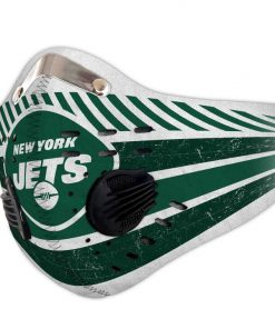 New york jets carbon pm 2,5 face mask 4