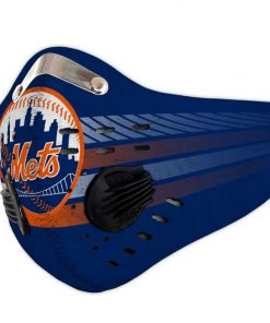 New york mets carbon pm 2,5 face mask 1