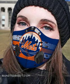 New york mets carbon pm 2,5 face mask