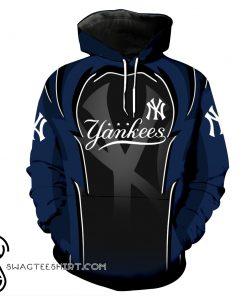 New york yankees full over printed shirt