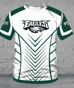 Philadelphia eagles full over print tshirt